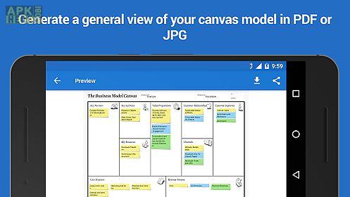 business model canvas & swot