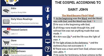 Catholic study bible app