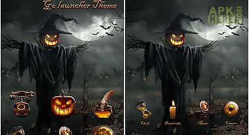 Devil pumpkin golauncher theme