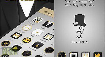 Gentleman golauncher theme