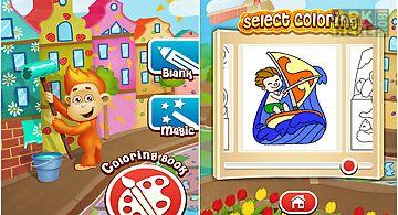 Kids games free coloring