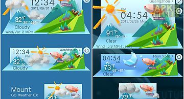 Mount reward theme go weather