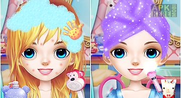 Princess makeover salon 2