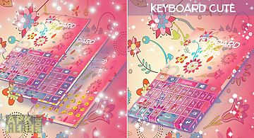 Cute keyboard theme free