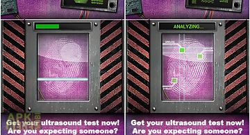 Pregnancy scanner prank