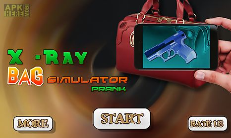 x-ray bag simulator prank