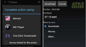One click downloader