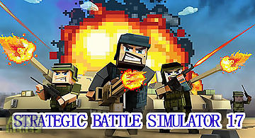 Strategic battle simulator 17 pl..