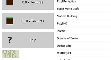 Textures for minecraft pe