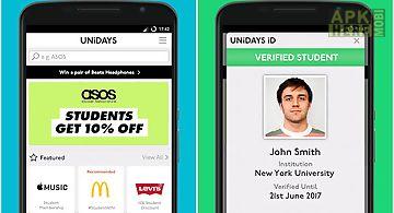 Unidays: student perks & deals