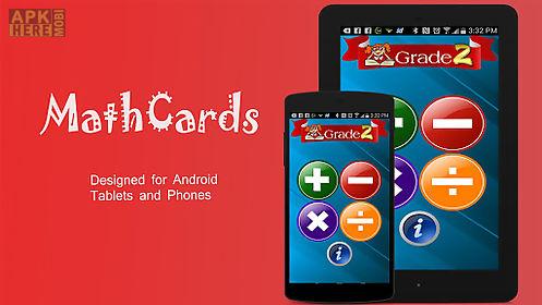 2nd grade math flashcards free