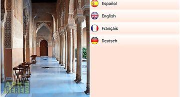 Alhambra of granada