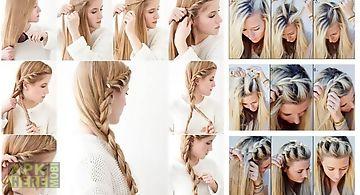 Braid hairstyle tutorials