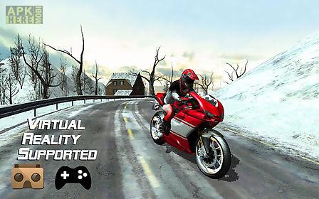 frozen highway bike rider vr