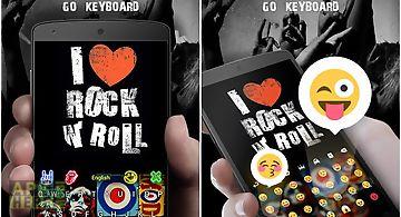 Rock n roll go keyboard theme