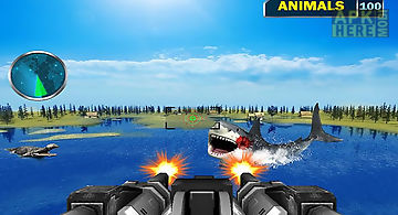 Sea monster shooting strike 3d