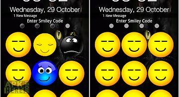 Smiley screen unlock