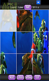 finding nemo puzzle games