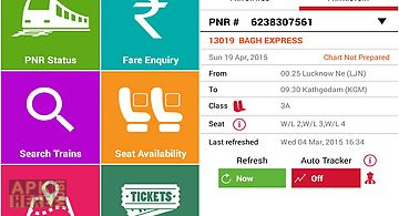 Indian rail irctc pnr status for Android free download at Apk Here