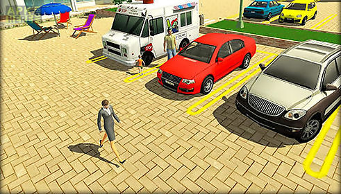 parking lot: real car park sim