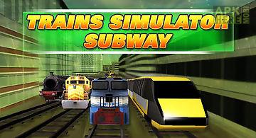 Trains simulator: subway