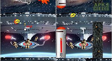Battle clash starship