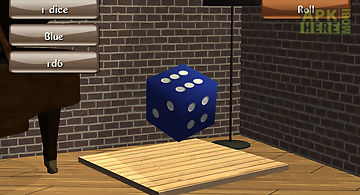 Bones and dices 3d