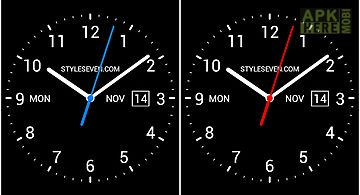 Analog clock -7 Live Wallpaper