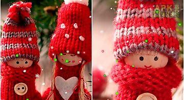 Winter: dolls Live Wallpaper