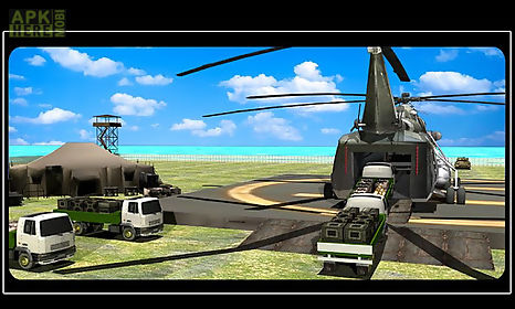 army helicopter - relief cargo