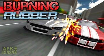 Burning rubber: high speed race
