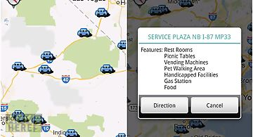 Rest area locator