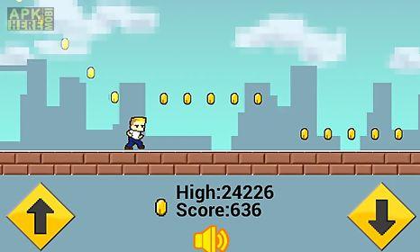 city pixel runner
