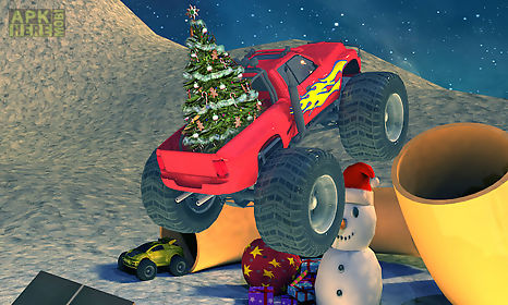 extreme x-mas car stunt racing