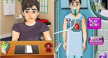 Heart surgery simulator game