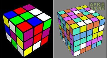 Magic cube: challenge