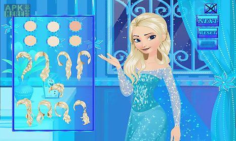 make up princess elsa at birthday