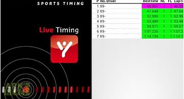 Mylaps live timing customary