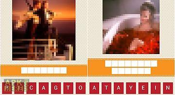 Pixel movie quiz