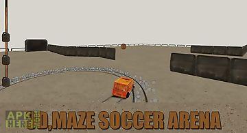 Soccer mill: maze