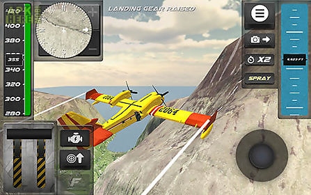 Airplane firefighter simulator for Android free download at
