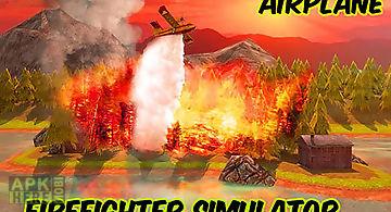 Airplane firefighter simulator