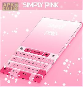simply pink keyboard