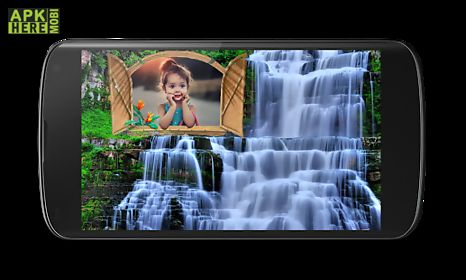waterfall photo frames 2