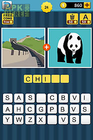 1+1 pics : guess the word