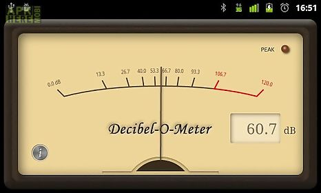 Decibel-o-meter for Android free download at Apk Here store