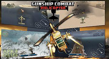 Helicopter gunship assault