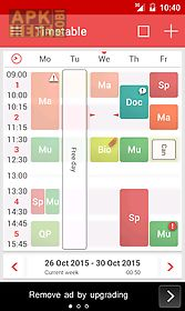 timetable++ schedule