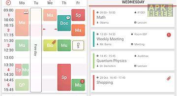 class scheduler app