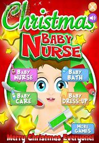 baby nurse christmas kids care